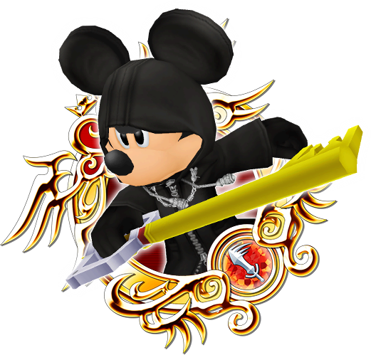 Black Coat King Mickey