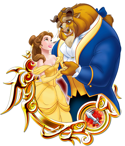 Illustrated Belle & Beast