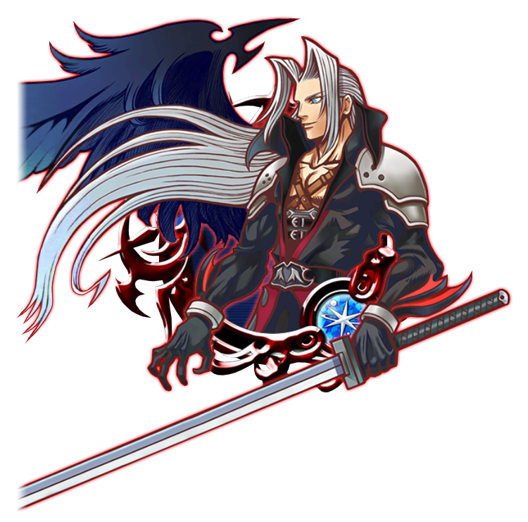 Illustrated Sephiroth