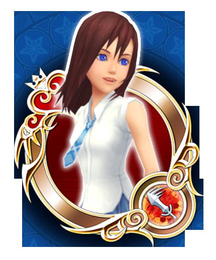 Kairi Kingdom Hearts 2: Uniform Kairi