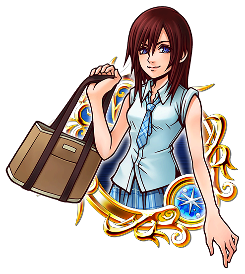 Illustrated KH II Kairi