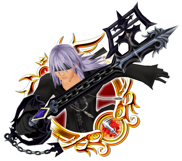 KH II Black Coat Riku B