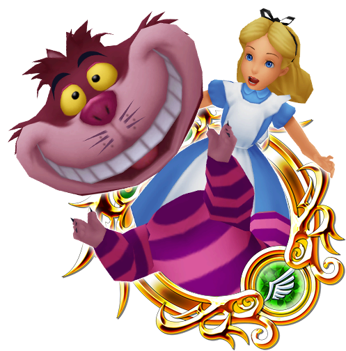 Alice & Cheshire Cat