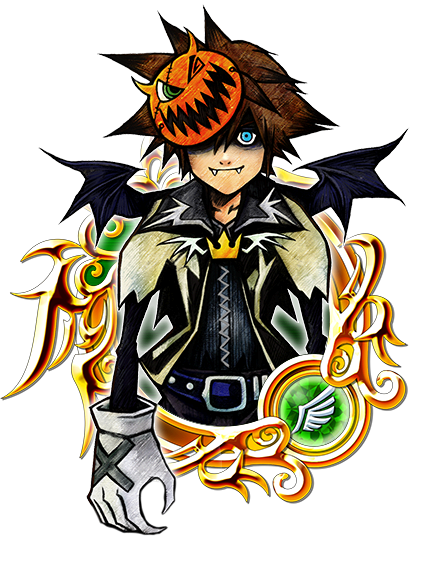 Illustrated Halloween Sora