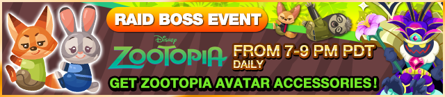 Event - Zootopia Raid Boss Event banner KHUX.png