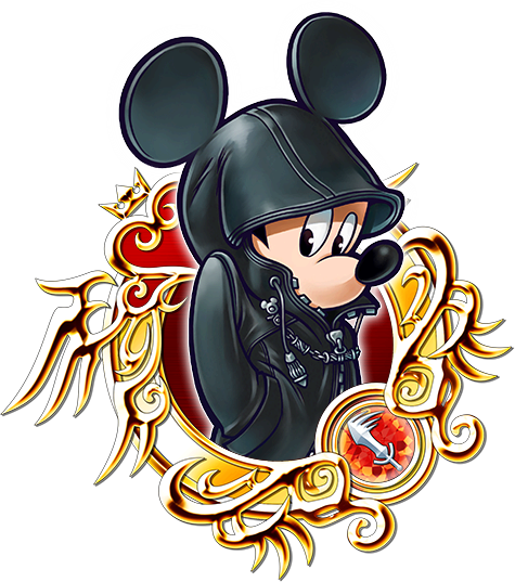 Illustrated King Mickey
