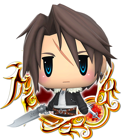 WORLD OF FF Squall