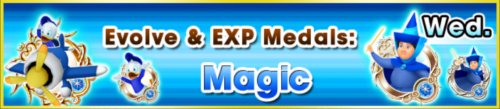 Special - Evolve & EXP Medals - Magic banner KHUX.png