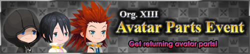 Event - Org. XIII Avatar Parts Event 2 banner KHUX.png