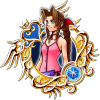 Illustrated Aerith 7★ KHUX.png