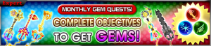 Event - Monthly Gem Quests! 14 banner KHUX.png