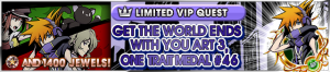 Special - VIP The World Ends with You Art 3 Challenge 2 banner KHUX.png