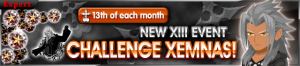 Event - NEW XIII Event - Challenge Xemnas!! banner KHUX.png
