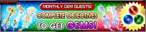 Event - Monthly Gem Quests! 13 banner KHUX.png