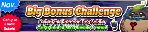 Event - Big Bonus Challenge (November 2020) banner KHUX.png