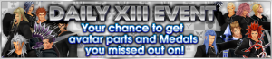Event - Daily XIII Event banner KHUX.png