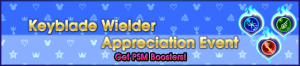 Event - Keyblade Wielder Appreciation Event banner KHUX.png