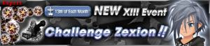 Event - NEW XIII Event - Challenge Zexion!! banner KHUX.png