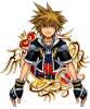 Illustrated KH II Sora 7★ KHUX.png