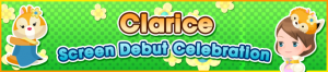 Event - Clarice Screen Debut Celebration banner KHUX.png