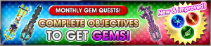 Event - Monthly Gem Quests! 20 banner KHUX.png