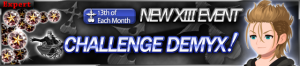 Event - NEW XIII Event - Challenge Demyx!! banner KHUX.png