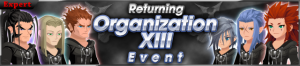 Event - Returning Organization XIII Event banner KHUX.png