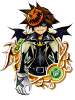 Illustrated Halloween Sora 6★ KHUX.png