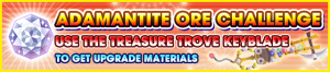 Special - Adamantite Ore Challenge (Treasure Trove) banner KHUX.png