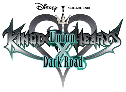 Kingdom Hearts Union χ Dark Road Logo.png