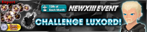 Event - NEW XIII Event - Challenge Luxord!! banner KHUX.png