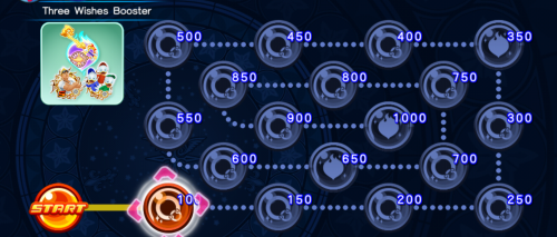 Cross Board - Three Wishes Booster KHUX.png