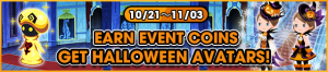 Event - Earn Event Coins - Get Halloween Avatars! banner KHUX.png