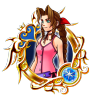 Illustrated Aerith 6★ KHUX.png
