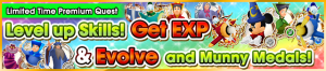 Special - VIP Level Up Skills! Get EXP & Evolve and Munny Medals! banner KHUX.png