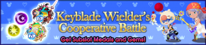 Event - Keyblade Wielder's Cooperative Battle banner KHUX.png
