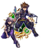 Illustrated KH II Sora & Riku (EX) 7★ KHUX.png